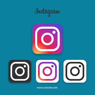 Instagram icons