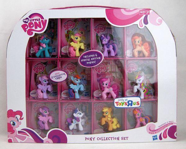 My Little Pony G4 12 Pony Ponyville Set