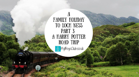 A Family Holiday to Loch Ness - Part 3 - A Harry Potter Road Trip