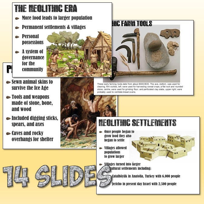 paleolithic and neolithic vocabulary 2) put in some bullet point information on the paleolithic/neolithic comparison chart quiz over tools of the historian world history vocabulary, map skills, chapter 2 vocabulary and chapter 2- paleolithic/neolithic times early humans etc.