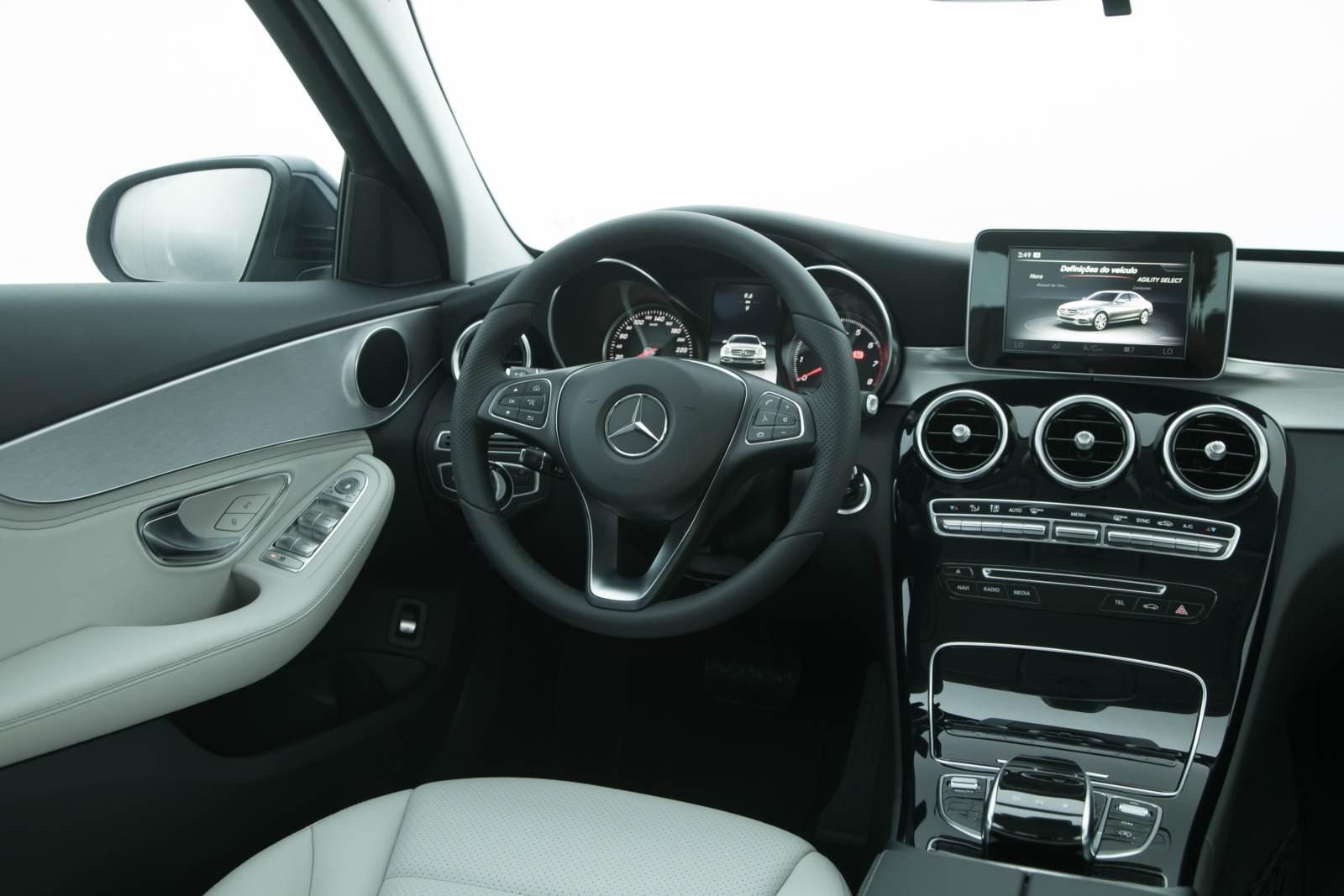 Novo mercedes benz c180 2015 avantgarde e exclusive car blog br - Foto foto interior ...