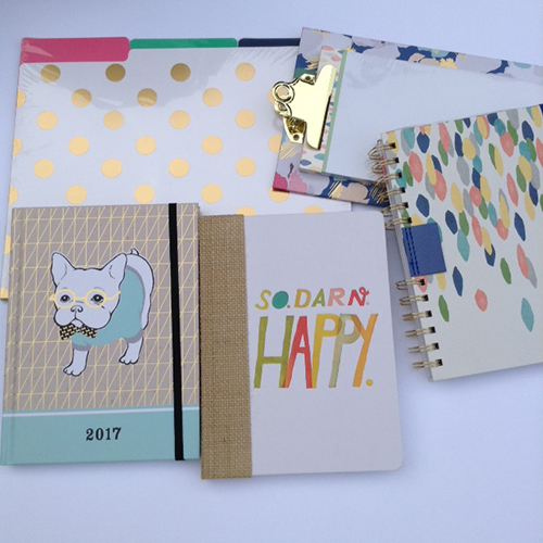 files, calendars, notebooks Hallmark Has Great Back To School Supplies ~ #Review #LoveHallmark