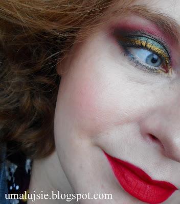 Makijaż w kolorach Bożego Narodzenia #3
