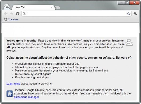 طريقة فتح أكثر من حساب فيس بوك فى وقت واحد google-chrome-incogn