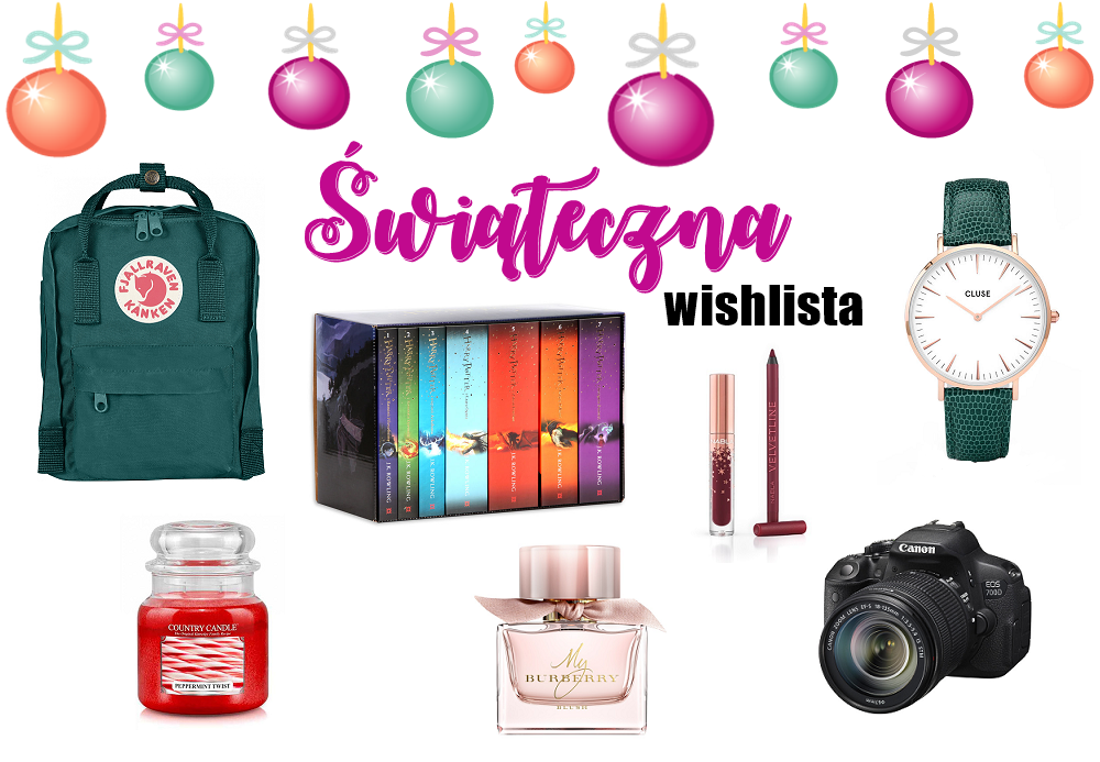 Wishlista Country Candle, Burberry, Harry Potter i Nabla