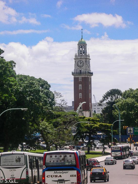 La torre monumental de Buenos Aires