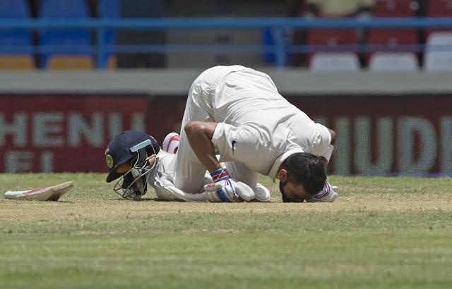 Virat Kohli double century against West Indies