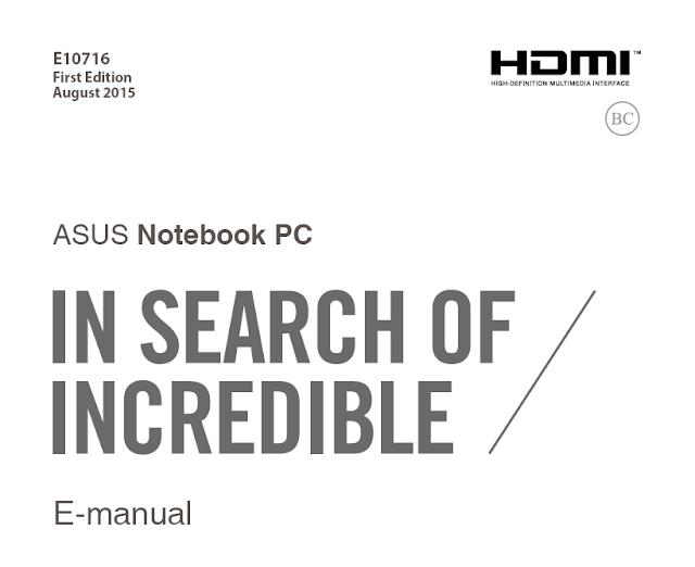 ASUS ROG G752VT Manual