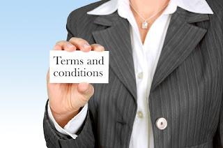 Importante: establecer las condiciones de la contratación