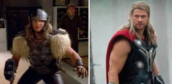 Perbedaan Penampilan Thor jaman dulu dan sekarang