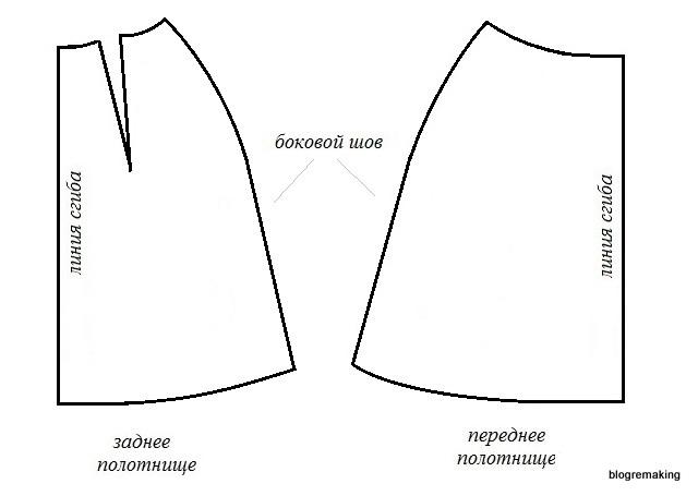 А-образная юбка сшить