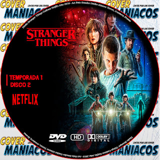 GALLETRA  STRANGER THINGS TEMPORADA 1 SERIE TV