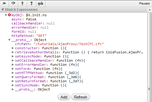 JavaScript debugging with Chrome Developer Tools and some