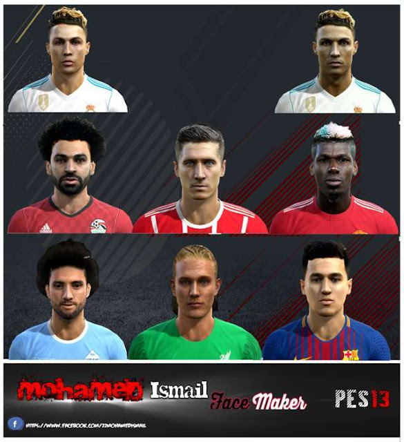 Facepack Update #27-04-2018 PES 2013