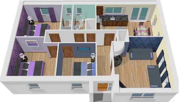 Kumpulan Model Rumah Minimalis 3D
