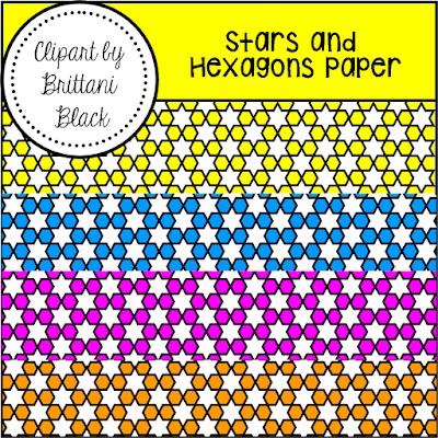 https://www.teacherspayteachers.com/Product/FREE-Stars-and-Hexagons-Paper-2392506