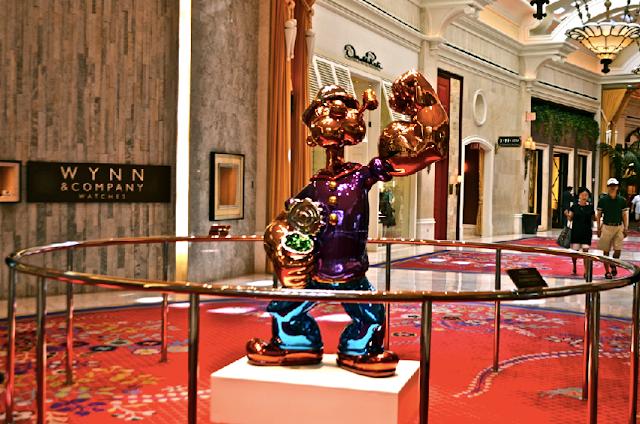 Quais são as esculturas do Wynn em Las Vegas