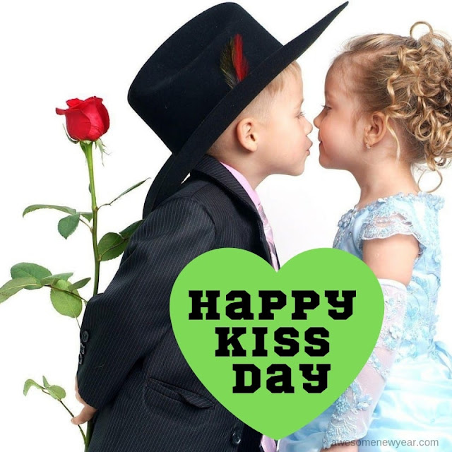 Funny Kiss Day Images
