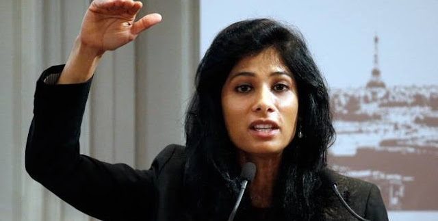 Gita Gopinath appointed International Monetary Fund IMF Chief Economist