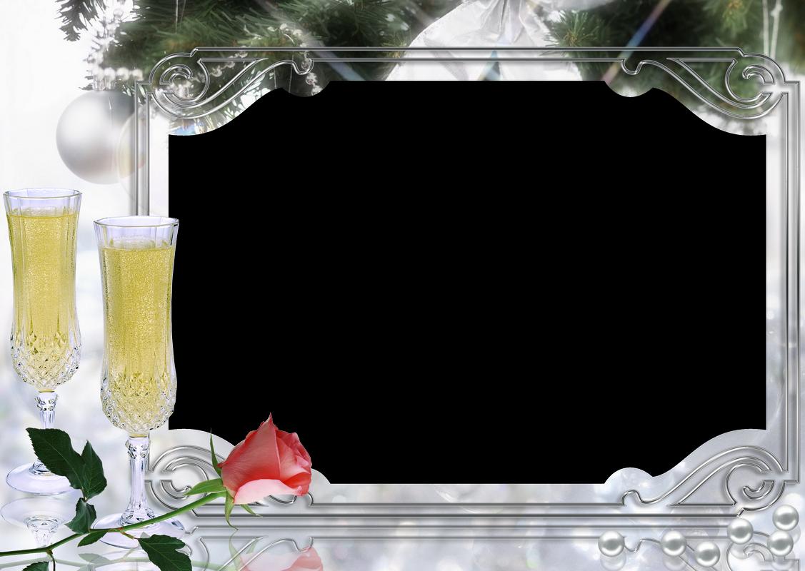 Marcos de Fotos Digitales. Año Nuevo. 4 Bordes para tus Fotografías ...
