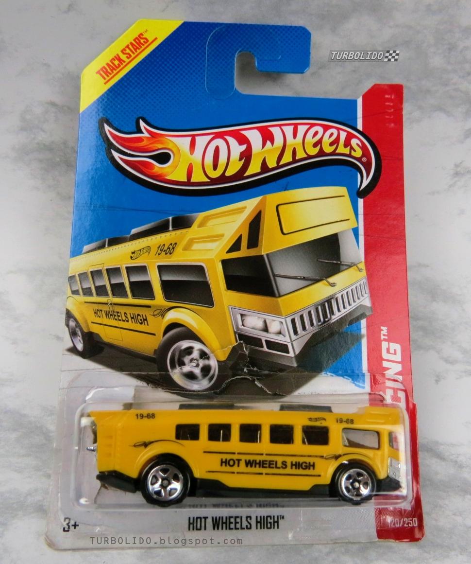 TURBOLIDO Cars: HOT WHEELS HIGH SCHOOL BUS / HW X1655