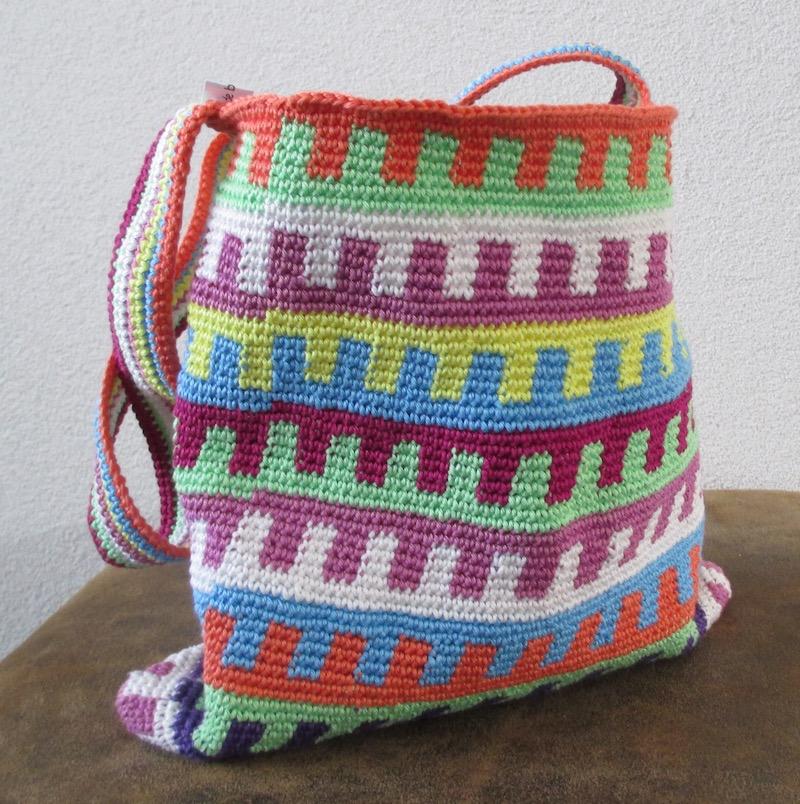 Heyleuk Tapestry Tas Multicolor