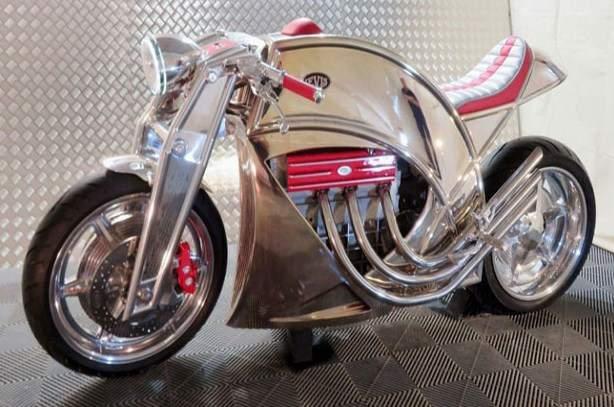 Motor levis cafe racer V6