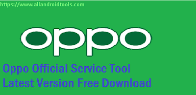 Oppo Official Tool Latest New Version V1.4 Free Download