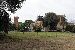 The Villa Ada-Savoia, former royal residence, now home of the Egyptian Embassy in Rome