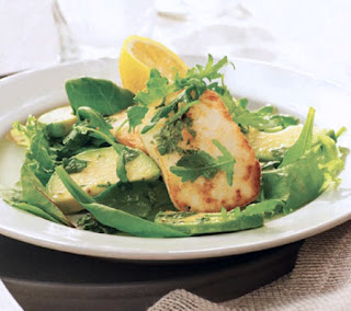 Halloumi and Avocado Salad Recipe