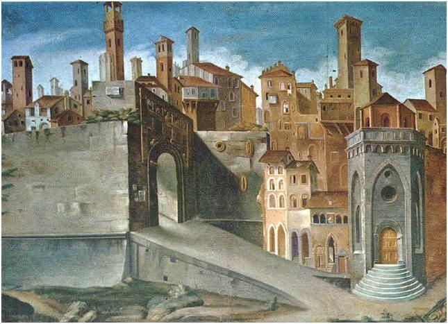Storia dell architettura climatica abitare nel medioevo for Immagini di case antiche