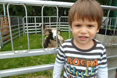 Child at Findon Sheep Fair