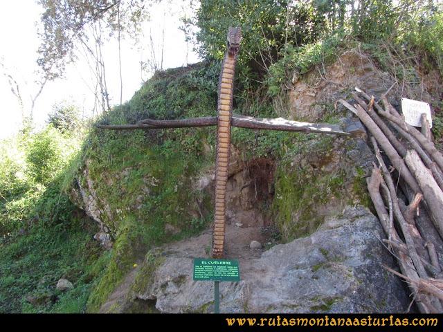 Camino Encantado Llanes: Cuélebre