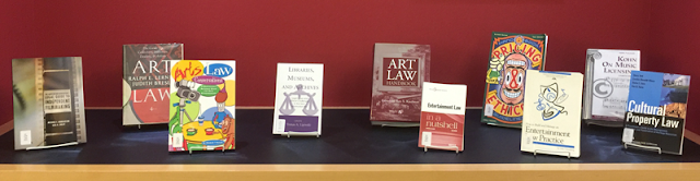 art law book display