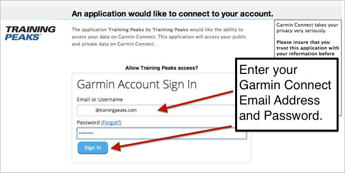 Hunter Allen Power Blog: Sync TrainingPeaks to Garmin Connect