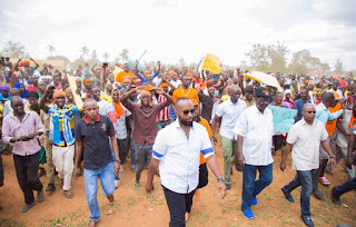 Raila Odinga promises kilifi residents what to happen after the elections in 2017.