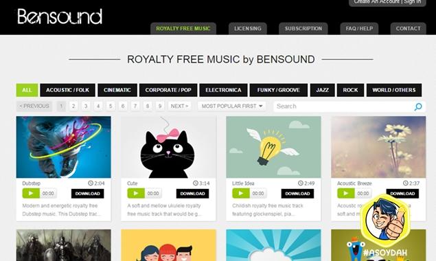 bensound music free download