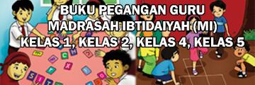 Buku Pegangan Guru Kurikulum 2013 MI Kelas 1 s/d Kelas 6 PDF (REVISI 2014)