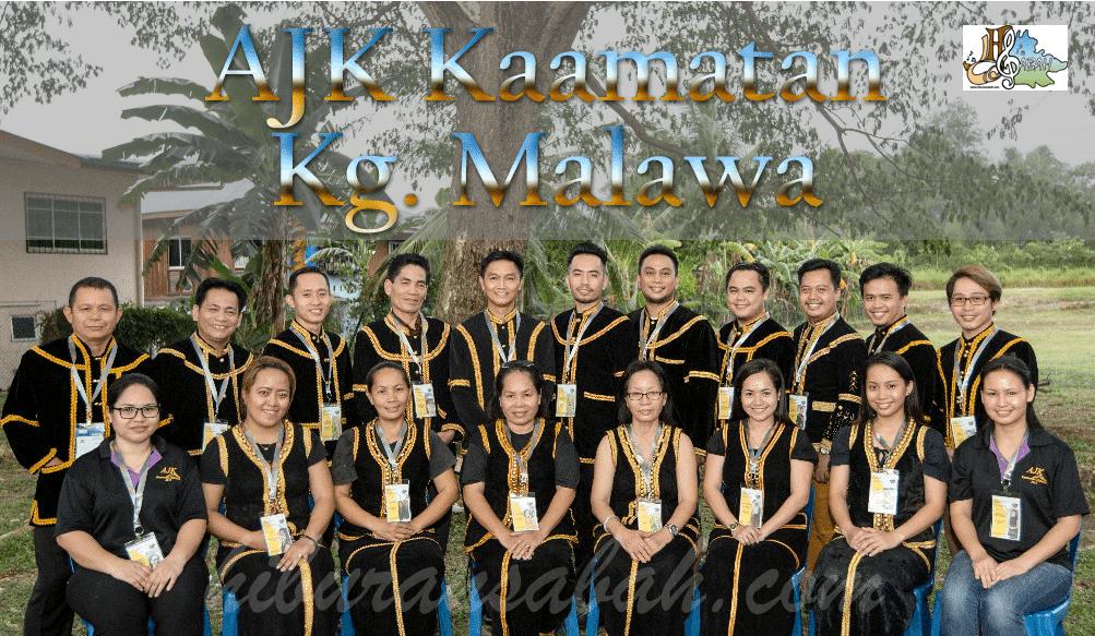 Ahli Jawatankuasa Pelaksana Pesta Kaamatan Kg. Malawa