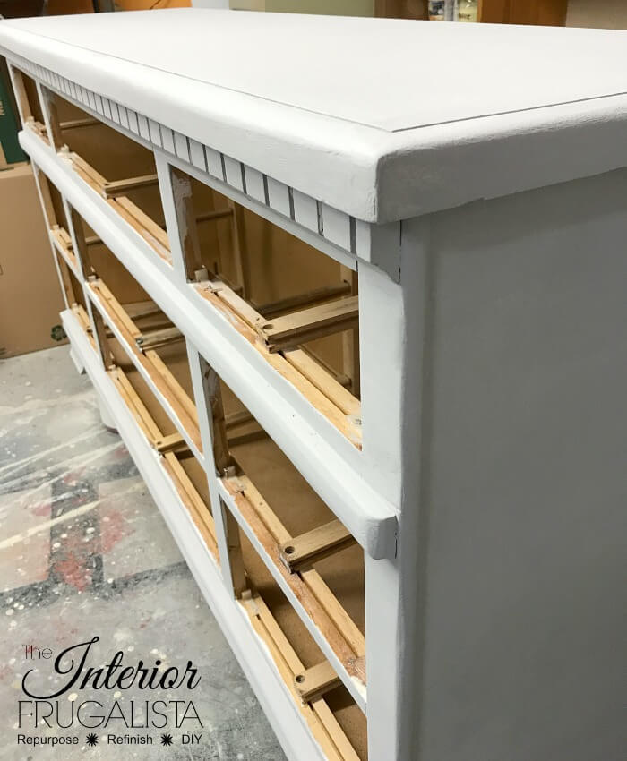 Farmhouse Dresser Grey Base Coat