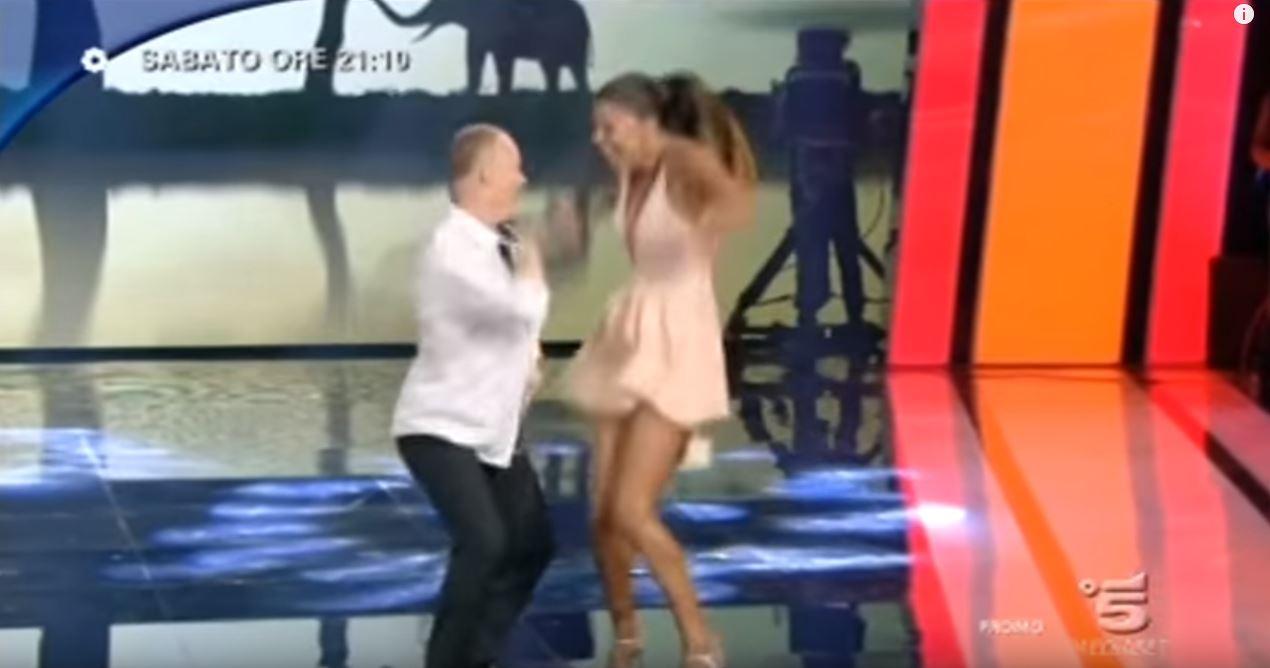 Canzone Tu Si Que Vales ''Belen che balla a inizio video'' promo Pubblicità