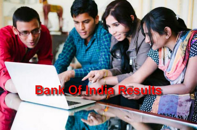 Bank Of India Results
