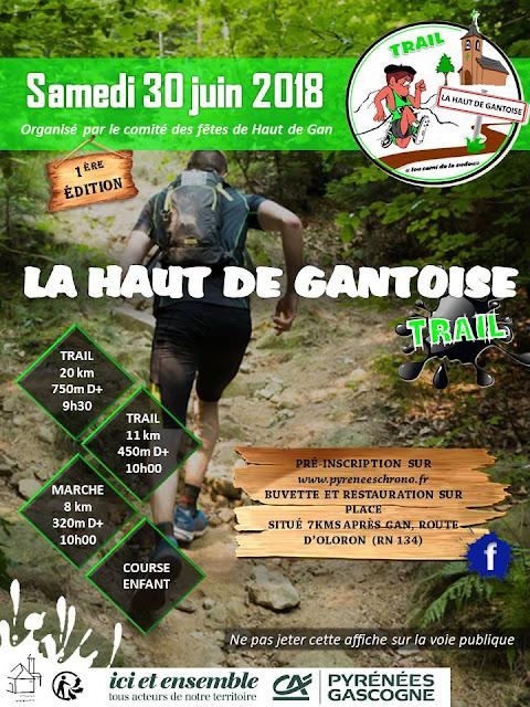 Trail La Haut De Gantoise 2018