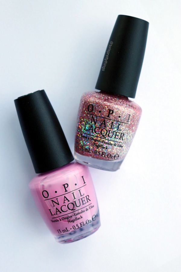 OPI Teenage Dream and OPI Lucky Lucky Lavender - Tori's Pretty Things Blog