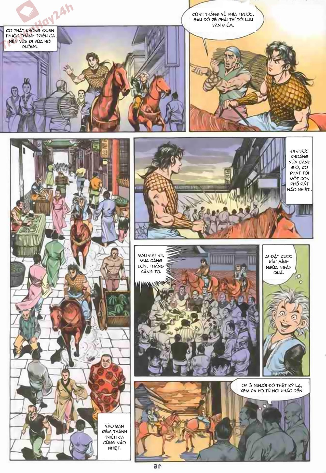 Cơ Phát Khai Chu Bản chapter 71 trang 16
