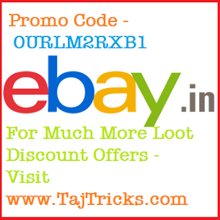 Ebay New User Offer - Rs 100 off
