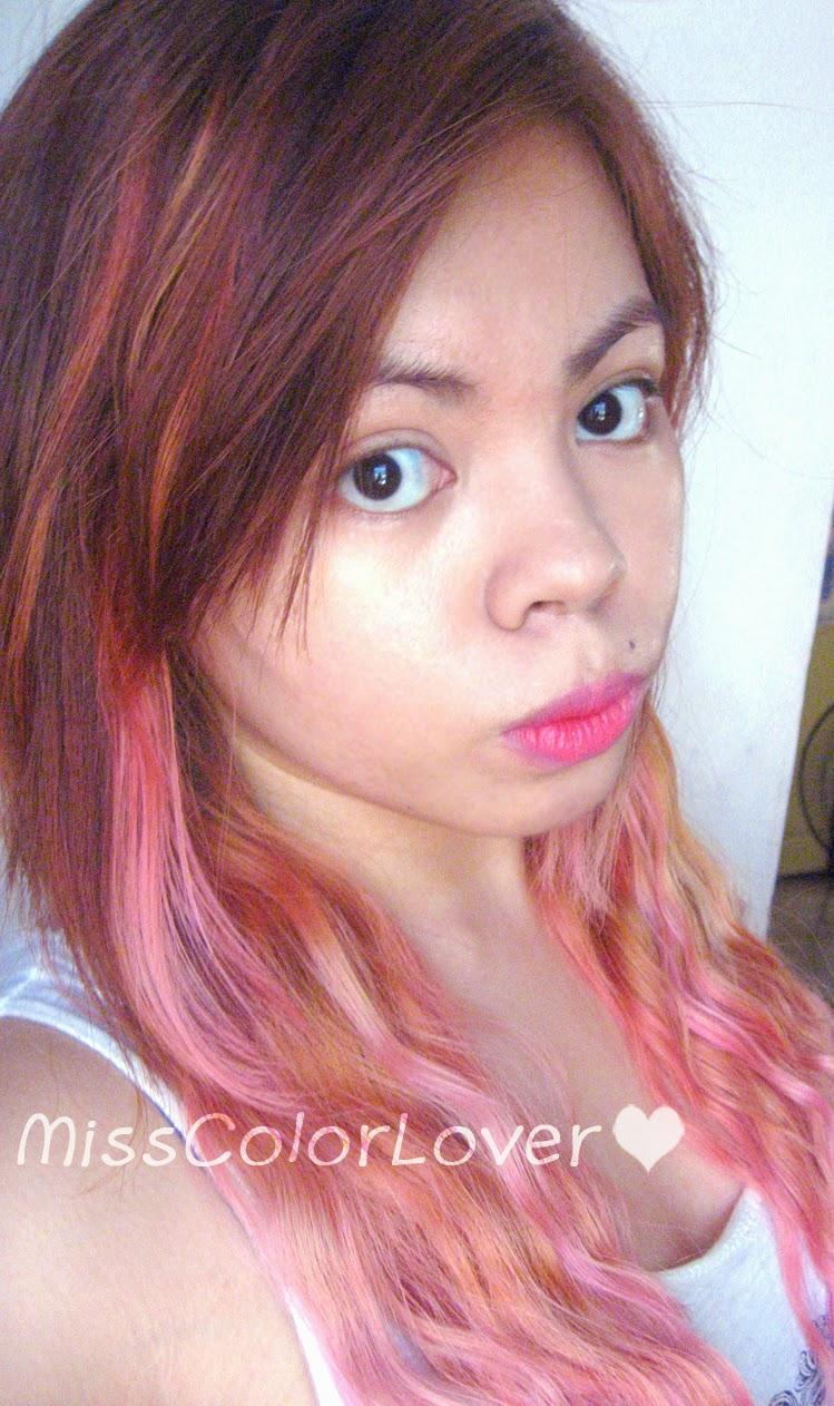A Splash Of Colorful Addictions My Vivid Hair Colour Journal