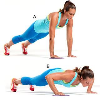 Gerakan simpel untuk membentuk tubuh