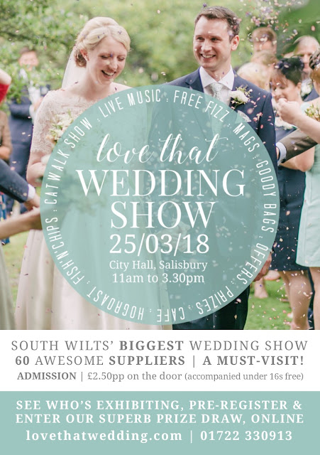 Salisbury Love That Wedding Show! at Salisbury City Hall on Sunday 25th March