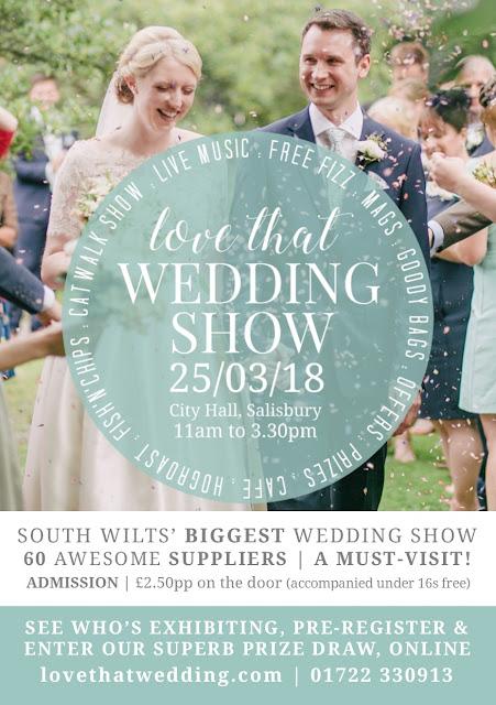 Salisbury Love That Wedding Show! at Salisbury City Hall on Sunday 25th March